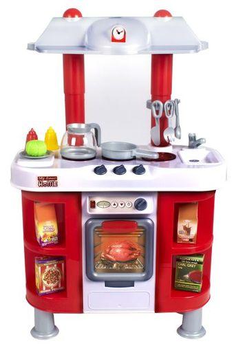 Smiki, Kuchnia DeLuxe z wyposażeniem, duża, zestaw za  Smiki  Zabawki i gry   -> Kuchnia Dla Dzieci Gra Za Darmo