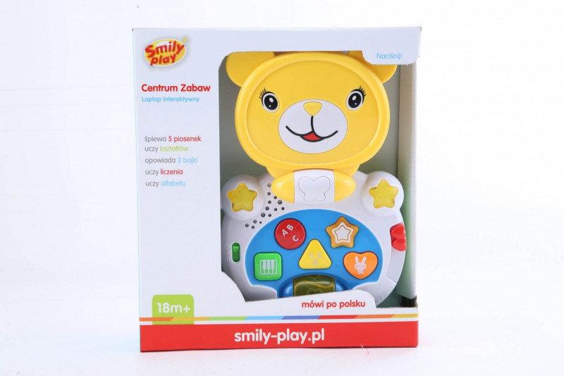 Smily, zabawka interaktywna Laptop