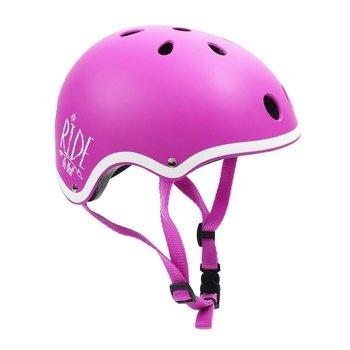 SMJ Sport, Kask dziecięcy rowerowy, sport F501, różowy, rozmiar M (55-57)-SMJ Sport
