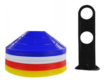 SMJ Sport, Pachołki treningowe, VCM-C2S40PB, różnokolorowe, kpl. 40 szt.-SMJ Sport