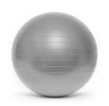 SMJ Sport, Piłka gimnastyczna BL003/GBS1105, srebrna, 65 cm -SMJ Sport