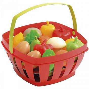 Smoby Ecoiffier, koszyk z warzywami i owocami -Ecoiffier