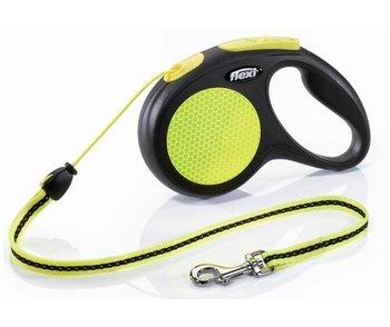 Smycz linka Flexi Classic, neon, S, 12 kg.-Flexi