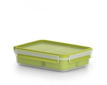 Snackbox TEFAL Clip&Go z pojemnikami, 1,2 l-Tefal