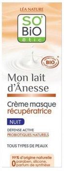 So Bio, regenerujący krem-maska na noc z mlekiem oślim i probiotykami, 50 ml-So Bio