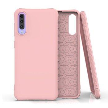 Soft Color Case elastyczne żelowe etui do Samsung Galaxy A50s / Galaxy A50 / Galaxy A30s różowy - Różowy-Hurtel