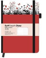 Soft Touch Silhouettes Tulips 2018 Diary Wochenkalender