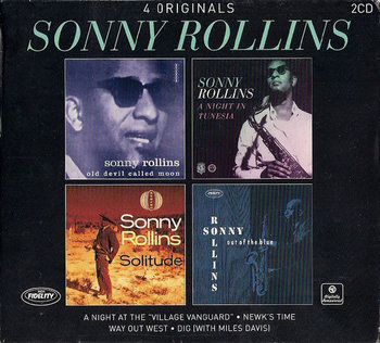 """Sonny Rollins 4 Originals (A Night At The """"Village Vanguard"""" / Newk's Time / Way Out West / Dig (With Miles Davis)-Rollins Sonny, Davis Miles, Blakey Art, Brown Ray, Jones Elvin, Kelly Wynton"""