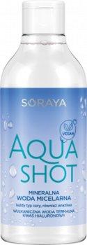 SORAYA Aqua Shot mineralna woda micelarna 400ml-Soraya