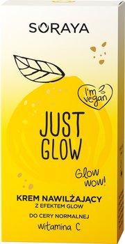 Soraya, Just Glow Krem, nawilżający z efektem Glow do cery normalnej z witaminą C, 50 ml-Soraya