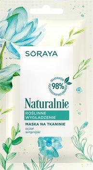 Soraya, Naturalnie, maska na tkaninie Roślinne Wygładzenie, 17 g-Soraya