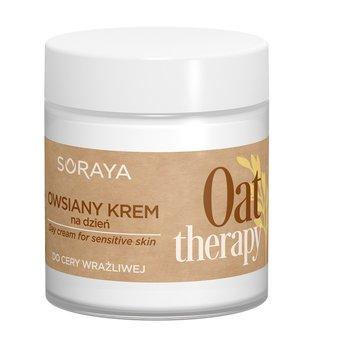 Soraya, Oat Therapy, owsiany krem do twarzy na dzień do cery wrażliwej, 75 ml-Soraya