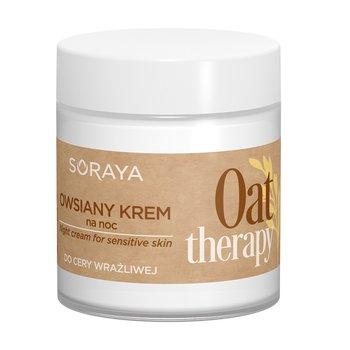 Soraya, Oat Therapy, owsiany krem do twarzy na noc do cery wrażliwej, 75 ml-Soraya