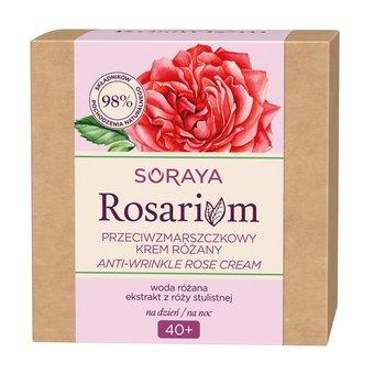 Soraya, Rosarium 40+, przeciwzmarszczkowy krem różany do twarzy na dzień/na noc, 50 ml-Soraya