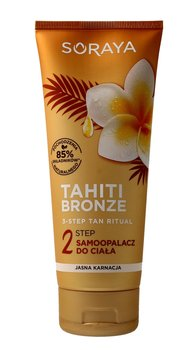 Soraya, Tahiti Bronze 2 Step, samoopalacz do ciała - jasna karnacja, 200 ml-Soraya