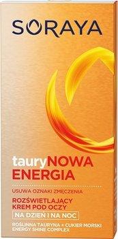 Soraya, Taurynowa Energia, krem pod oczy rozświetlający na dzień i noc, 15 ml-Soraya