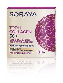 Soraya, Total Collagen 50+, krem ujędrniający reduktor zmarszczek na dzień i noc, 50 ml-Soraya