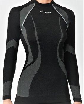 SPAIO, Koszulka damska, Active Line, czarny, rozmiar XL-SPAIO