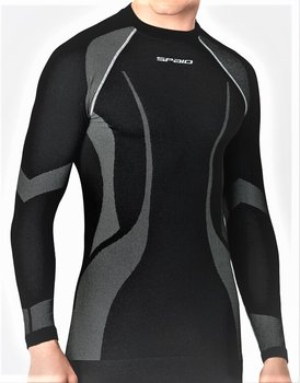 SPAIO, Koszulka męska, Active Line, czarny, rozmiar L-SPAIO