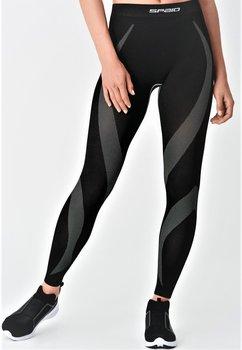 SPAIO, Spodnie damskie, Active Line, czarny, rozmiar L-SPAIO