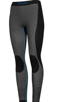 Spaio, Spodnie damskie, Simple Line, niebieski, rozmiar XL-SPAIO