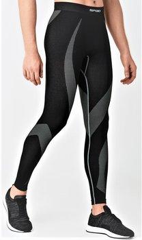 SPAIO, Spodnie męskie, Active Line, czarny, rozmiar XXL-SPAIO