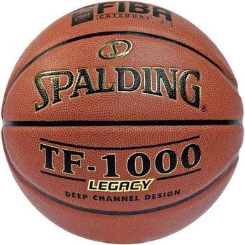 Spalding, Piłka do koszykówki, Tf-1000 Legacy, brązowy, rozmiar 6-Spalding