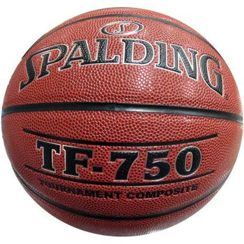 Spalding, Piłka do koszykówki tf-750, brązowy, rozmiar 7-Spalding