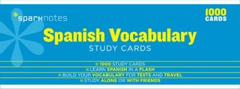 Spanish Vocabulary Sparknotes Study Cards - Sparknotes, Sparknotes Editors