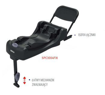 Sparco, F300i, Baza, IsoFix-Sparco