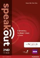 Speakout Elementary 2nd Edition Students' Book with DVD-ROM and MyEnglishLab Access Code Pack-Clare Antonia