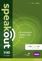 Speakout Pre-Intermediate 2nd Edition Students' Book with DVD-ROM and MyEnglishLab Access Code Pack-Clare Antonia, Wilson J. J.