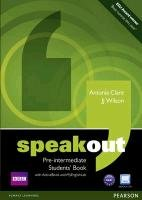 Speakout Pre-intermediate. Students' Book (with DVD / Active Book) & MyLab-Wilson J. J., Clare Antonia