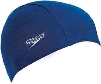 Speedo, Czepek pływacki Junior, granatowy, rozmiar uniwersalny-Speedo