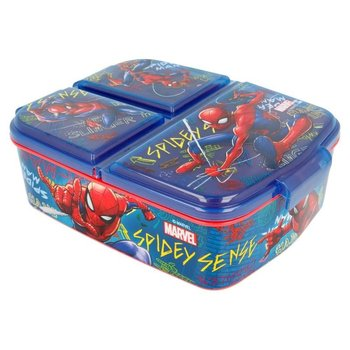 Spiderman - Lunchbox z przedziałkami-Spiderman