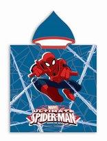 Spiderman, Poncho kąpielowe, 50x115 cm