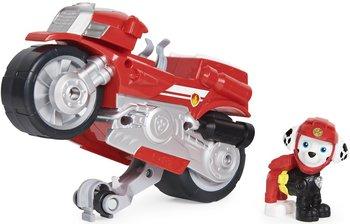 Spin Master, Psi Patrol Moto Pups, figurka i motocykl Marshall Deluxe Vehicle-Spin Master