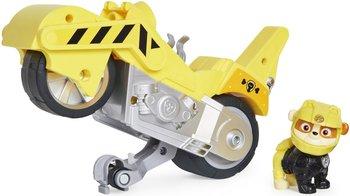 Spin Master, Psi Patrol Moto Pups, figurka i motocykl Rubble Deluxe Vehicle-Spin Master