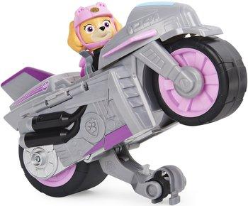 Spin Master, Psi Patrol Moto Pups, figurka i motocykl Skye Deluxe Vehicle-Spin Master