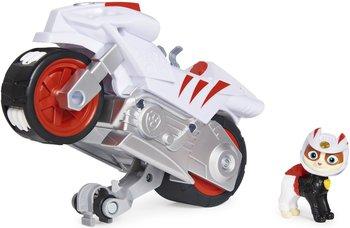 Spin Master, Psi Patrol Moto Pups, figurka i motocykl Wildcat Deluxe Vehicle-Spin Master