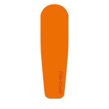 Spokey, Mata samopompująca, RAMBLER, pomarańczowy, 180x50x3cm-Spokey
