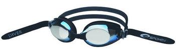Spokey, Okulary do pływania, Diver, czarno-niebieskie, rozmiar uniwersalny-Spokey