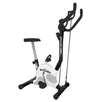 Spokey, Rower mechaniczny, ONEGO+, biały-Spokey