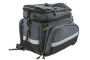 Sport Arsenal, Sakwa na bagażnik 550 3-komory, czarno-grafitowa-Sport Arsenal