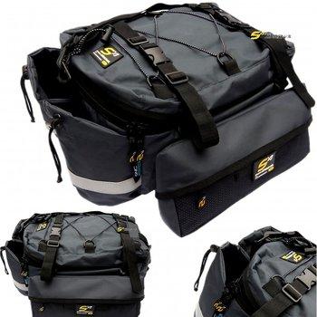 Sport Arsenal, Sakwa na bagażnik, 599, czarny, 36x27x17 cm-Sport Arsenal