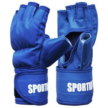 SportKO, Rękawice MMA PD5, niebieski, rozmiar L-SportKO
