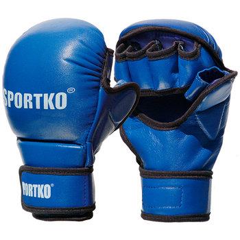 SportKO, Rękawice MMA, PK7, niebieski-SportKO