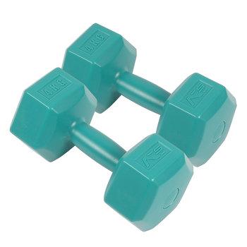SportVida, Zestaw hantli, 2x4 kg, niebieski-SportVida