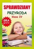 Sprawdziany. Przyroda. Klasa 4. Sukces w nauce-Wrocławski Grzegorz