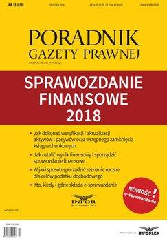Sprawozdanie finansowe 2018-Opracowanie zbiorowe